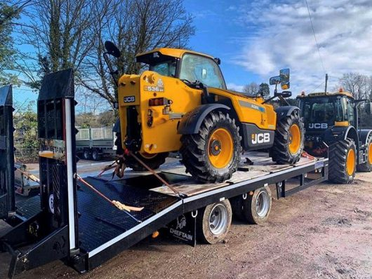 2 axle high speed low loader