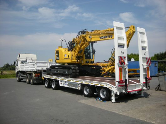 Chieftain 2+2 Turntable Low Loader