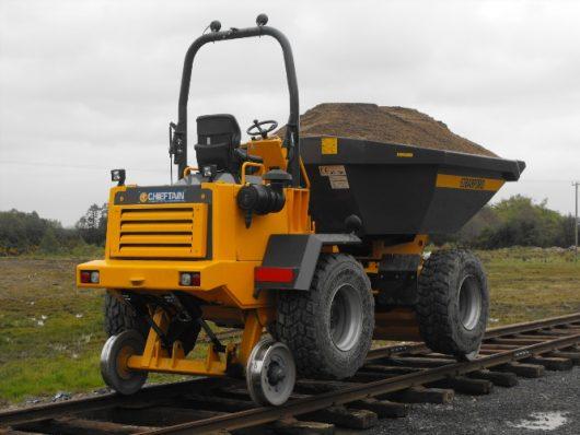 Chieftain Rail Conversion Dump truck