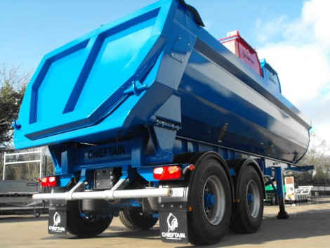 Commercial Tipping Trailer