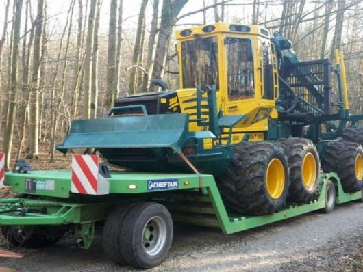 Turn Table Forestry trailer