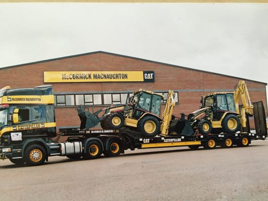 Trailer with Diggers