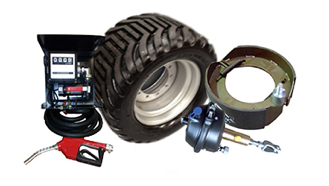 Chieftain Trailer Parts Assorted